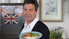 John Torode and his Confit Gressingham Duck with Parsnip Puree