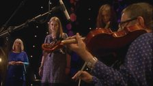 Lavinia Blackwall, Maddy Prior, Thea Gilmore and Dave Swarbrick