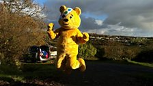 Pudsey Shows his Support