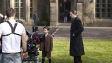 Pictures from the set of The Secret of Crickley Hall