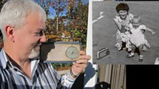 Me and My Radio in 1961 and now in 2012. The radio has not changed and still works, however I have changed and stopped working.