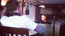FaltyDL in the studio