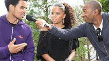 Ms Dynamite and Akala chat to Vis