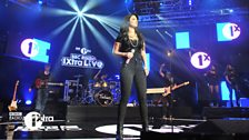Tulisa at 1Xtra Live in London