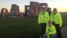 The team at Stonehenge