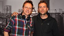 Damon Albarn with Simon