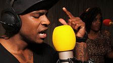 Skepta was in the Live Lounge