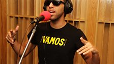 Aggro Santos was in the Live Lounge