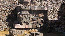 The Mayan sun god