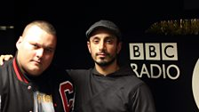 Charlie Sloth and Riz MC