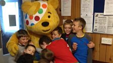 A hug for Pudsey
