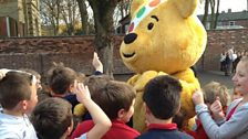 Pudsey mobbed