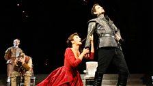 Olga Peretyatko as Matilde di Shabran & Juan Diego Florez as Corradino