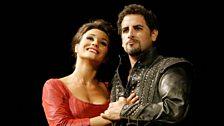 Olga Peretyatko as Matilde di Shabran & Juan Diego Florez as Corradino.