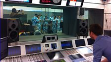 Kadavu Choir Join Aled Jones in Studio