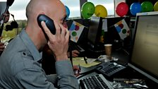 MacAulay and Co. Children in Need Celebrity Call Centre - Christopher Brookmyre