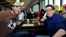MacAulay and Co. Children in Need Celebrity Call Centre - Mark Beaumont and Mark Cox