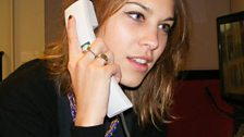 Pro Celebrity Phone Answerer Alexa Chung
