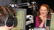 Jennie McAlpine In The Studio