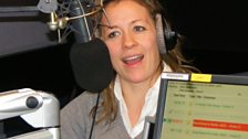 Sarah Beeny On Radio 1