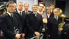 Grimmy and The Regent Street Salvation Army Brass Band