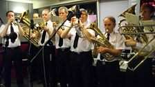 The Brass Band play