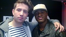 Taio Cruz comes in to play Grimmy's new game Cruz control - geddit?!