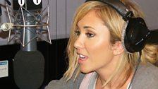 Jenny Frost In The Studio