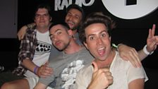 The Count, Kissy (a gatecrasher), Sinden and Grimmy!