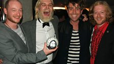 Biffy Clyro at the Mercury Music Prize