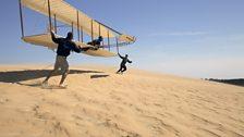 Wright Brothers Replica Glider