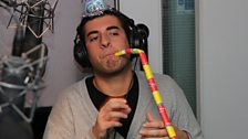 James 'Arg' Argent gets into the party mood