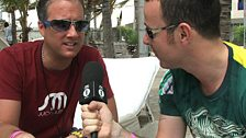 Judge Jules chats to Robbie Rivera