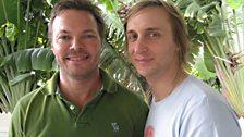 Pete Tong and DJ David Guetta
