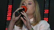 The gorgeous Roisin Murphy provides the vocals...