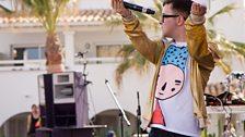 Hip Hop Karaoke at Radio 1's Free Party