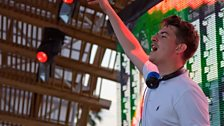 Skream at Radio 1's Free Party