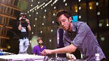 Calvin Harris at Radio 1's Free Party