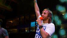 David Guetta at Radio 1's Free Party
