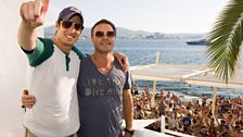 Vernon & Pete at Cafe Mambo