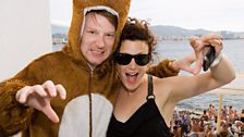 Producer James & Annie Mac at Cafe Mambo
