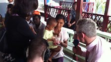 Jeremy visits a clinic in Burma.