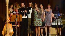 The cast of Il Tabarro