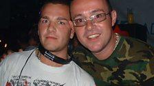 Fergie and Judge Jules, Eden, Ibiza, August 2003