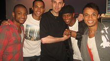 Westwood with JLS