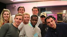 Westwood with Tinchy Stryder & The Marines from Camp Bastion.