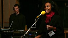 Hackman Ft. Binisa Bonner perform live at Maida Vale Studios