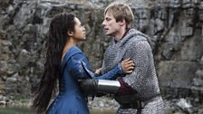 Queen Guinevere and King Arthur