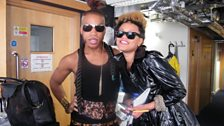 Image Consultant Vernon Francois with Gemma Cairney