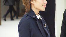 Alexa Chung at Burberry